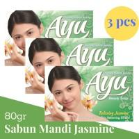Ayu Beauty Soap 80gr banded 3 Pcs Sabun Mandi Relaxing Jasmine Hijau