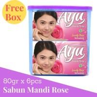 Ayu Beauty + Snack Box 80gr isi 6 pcs / Sabun Mandi