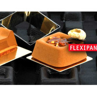 Flexipan FP1105 Medium Square Savarin 35 Mould