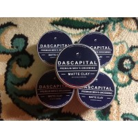 New Dascapital Matte Clay With Activated Charcoal and Ice Menthol