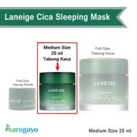 [Sarogayo] READY Laneige Cica Sleeping Mask Medium size 25 ml No Box