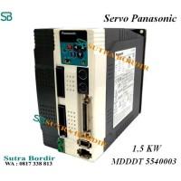 Servo Panasonic MDDDT5540003 Bordir Komputer Fuhao Lungxiang Song dll