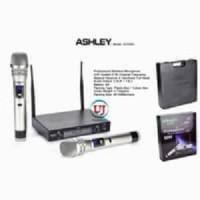 Mic Wireless ASHLEY SVX555 UHF Koper Microphone Original