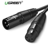 UGREEN Kabel XLR Karaoke Microphone 3Meter AV130 Original
