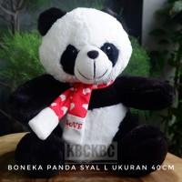 Boneka Panda Syal ukuran L