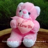 Boneka Teddy Bear Love ukuran S