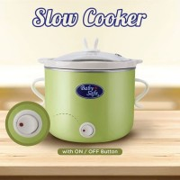 Baby Safe Slow Cooker With ON OFF Button LB008