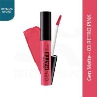SILKYGIRL Gen Matte Lip Cream 03 Retro Pink