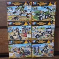 mainan lego battlegrounds survival PUBG lego bricks battleground