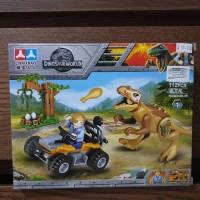 mainan lego dinosuarus dino world bricke dino world