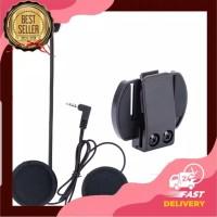 Microphone headset intercom V4 V6 V6 pro ejeas velcro hetset helm head
