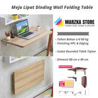Promo Meja Lipat Dinding / Meja Komputer Dimensi P 60 x L 40 cm