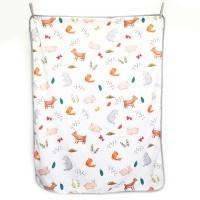 Maison Elmesa Baby Blanket - ANIMAL CHALK