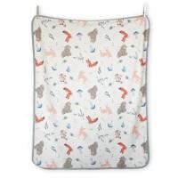 Maison Elmesa Baby Blanket Selimut Bayi Regular Animoto Woodland