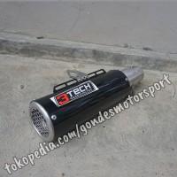 Knalpot Spartan GP3 150 cc Full System Stainless