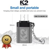 OTG USB MICRO USB K2 PREMIUM QUALITY SAMSUNG XIAOMI OPPO VIVO REALME