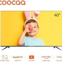 Coocaa Smart LED TV 40 inch 40S3C Garansi Resmi