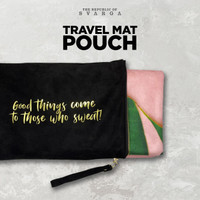 SVARGA Yoga Travel Mat Pouch Velvet / Suede Tas Yoga / Yoga Bag