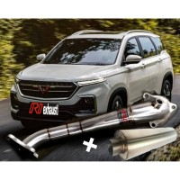 Paket Downpipe + Resonator Wuling Almaz