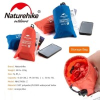 PELINDUNG PENUTUP TAS CARRIER RAIN COVER BAG WATERPROOF NATUREHIKE