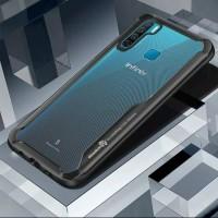 Case Infinix S5 Lite Casing Transparant Back Shock Hardcase S5 LITE