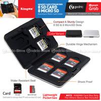 KINGMA BMGP308 (16 Slot) Box Case Memory Card for SD & TF Card