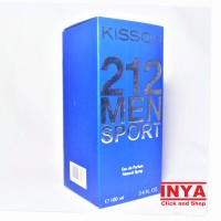 PARFUM KISSOU 212 MEN SPORT BLUE BIRU - EDP Eau De Parfume 100ml