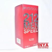 PARFUM KISSOU 212 MEN SPEED RED MERAH - EDP Eau De Parfume 100ml