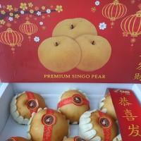 Buah Imlek Pear Pir Singo Fresh Gift Pack Box Parcel