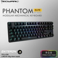 Tecware - Phantom Elite 87 (Mechanical Gateron Yellow)