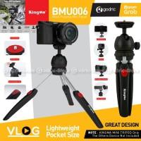 KINGMA BMU006 Mini Tripod Stabilizer Vlog 360 Ballhead Camera HP DSLR
