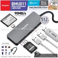 KINGMA BMU011 USB Type C Hub 6in1 Multi Card Reader USB 3.0 SD CF TF