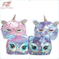 Tas Anak Selempang Sling Bag Sequin Unicorn Dan Owl