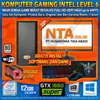 KOMPUTER GAMING INTEL LEVEL 6