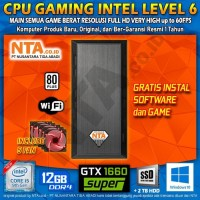CPU GAMING INTEL LEVEL 6