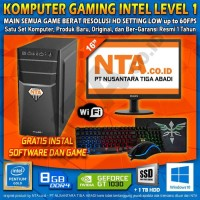 KOMPUTER GAMING INTEL LEVEL 1