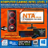 KOMPUTER GAMING INTEL LEVEL 3