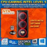 CPU GAMING INTEL LEVEL 5