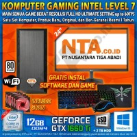 KOMPUTER GAMING INTEL LEVEL 7