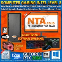 KOMPUTER GAMING INTEL LEVEL 8
