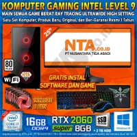 KOMPUTER GAMING INTEL LEVEL 9