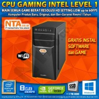 CPU GAMING INTEL LEVEL 1
