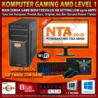 Komputer Gaming Set Level 1