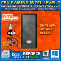CPU GAMING INTEL LEVEL 7