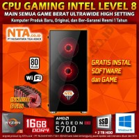 CPU GAMING AMD LEVEL 8