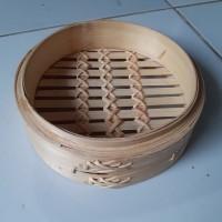 Klakat Dimsum Bambu 20cm Model Hongkong