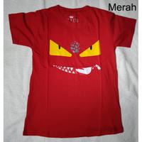 Baju Fendi Monster Wanita ( W Merah )