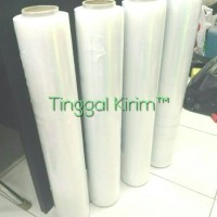 1 Dus (isi 6 roll) Stretch film plastic wrapping 50cm x 250mtr