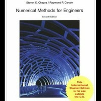 Numerical methods for engineers 7th seventh edition by steven c chapra