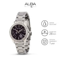 Jam Tangan Wanita Alba Fashion Quartz Stainless Steel Axt817 Original